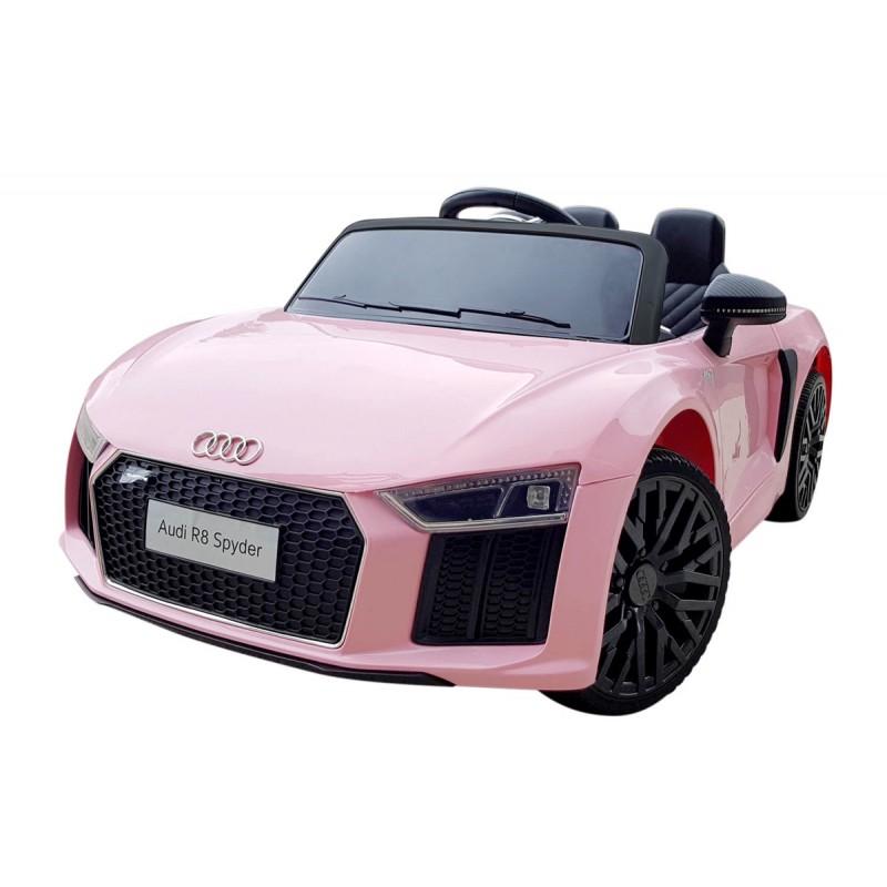 audi-r8-spyder-coche-eléctrico-para-ninas-licenciado-12v-ataa-cars-rosa