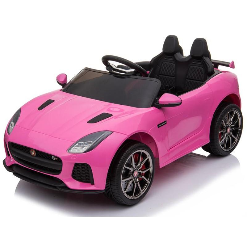 coche-de-bateria-para-ninos-con-licencia-para-ninos-jaguar-ataa-rosa