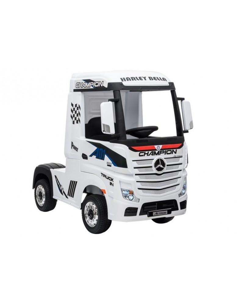 coche-electrico-para-ninos-mercedes-actros-12v-camion-para-ninos-blanco