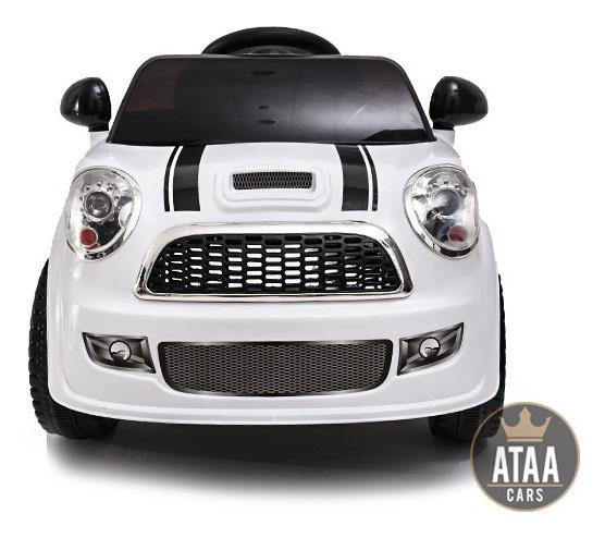 coche-electrico-para-ninos-mini-uno-6v-ataa-cars-blanco