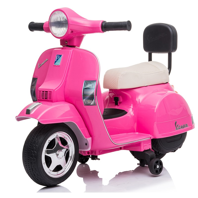 motos-electricas-para-ninos-6v-vespa-clasica-px150-mini-oficial-ataacars-rosa