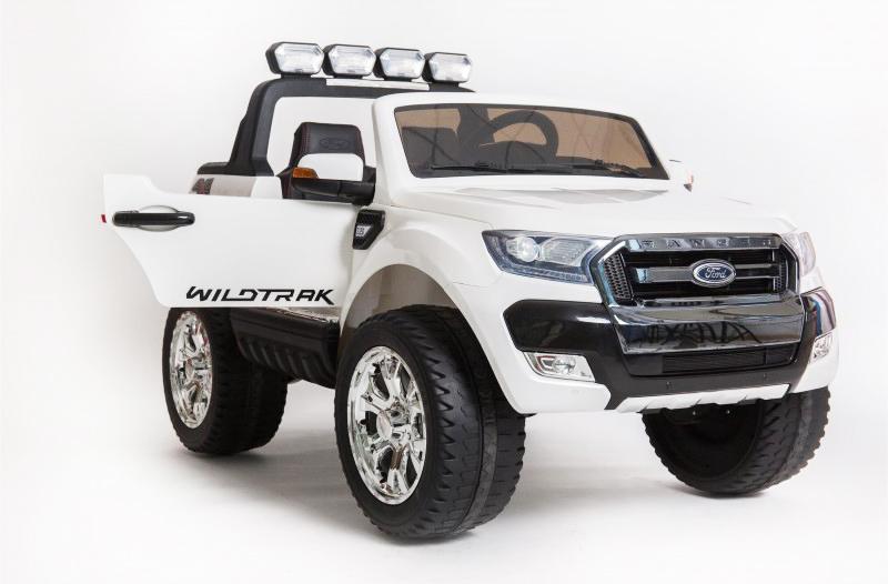 coche-electrico-para-ninos-ford-ranger-luxury-12v-licencia-oficial-mp4-blanco