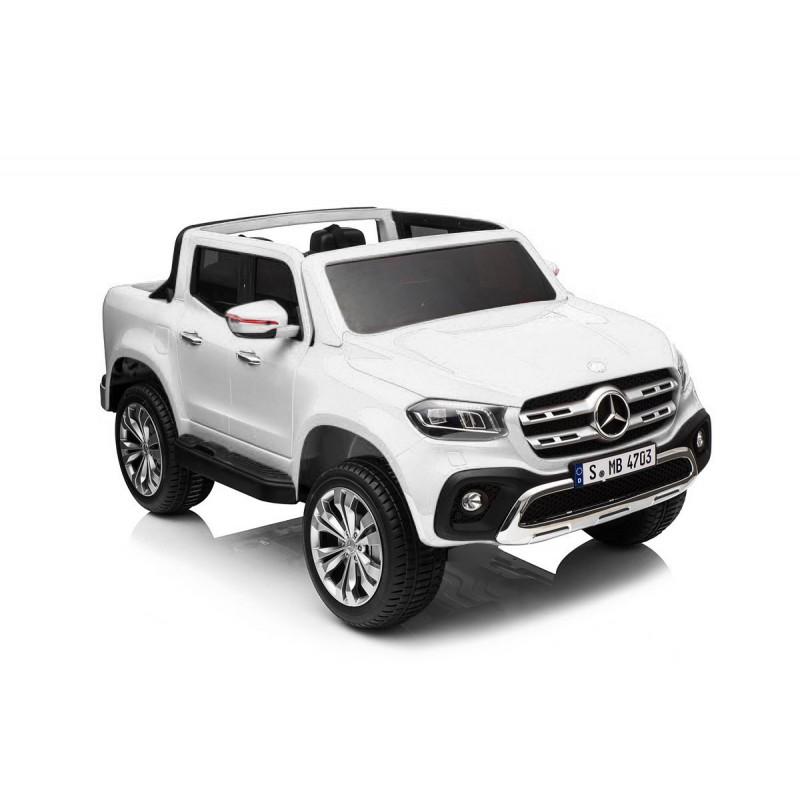 coche-electrico-para-ninos-mercedes-pickup-dos-asientos-12v-ataa-cars-asa-de-arrastre-blanco