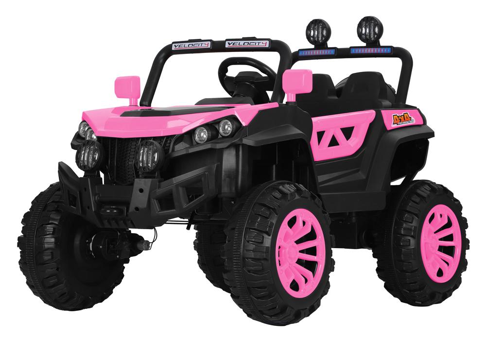 coche-eléctrico-para-niños-buggy-rodeo-biplaza-ataa-cars-rosa