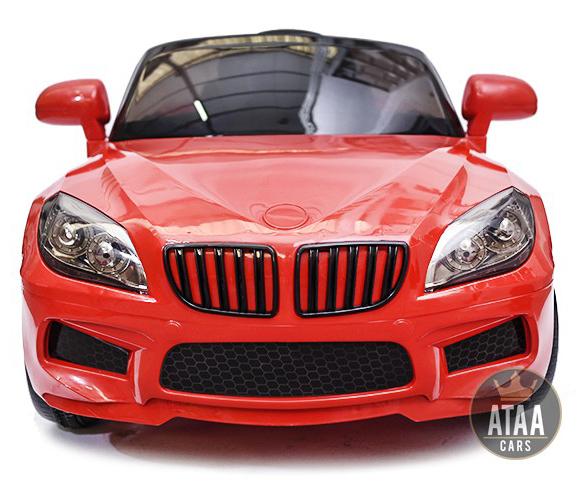 coche-electrico-para-ninos-barato-serie-5-berlina-12v-rojo