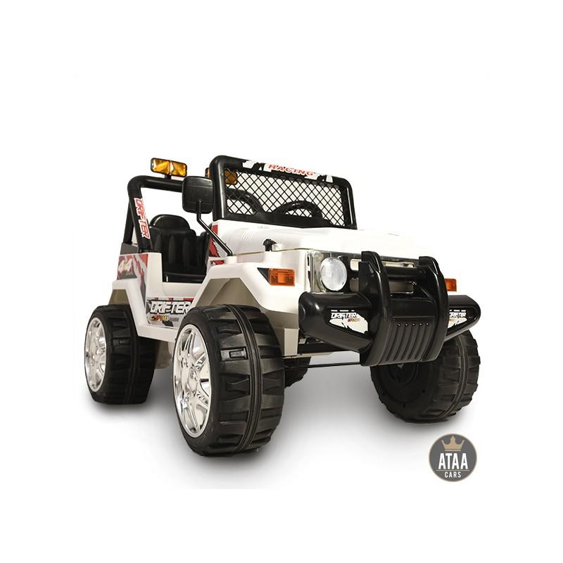 coche-electrico-para-ninos-todo-terreno-estilo-jeep-4x4-12v-ataa-cars-blanco