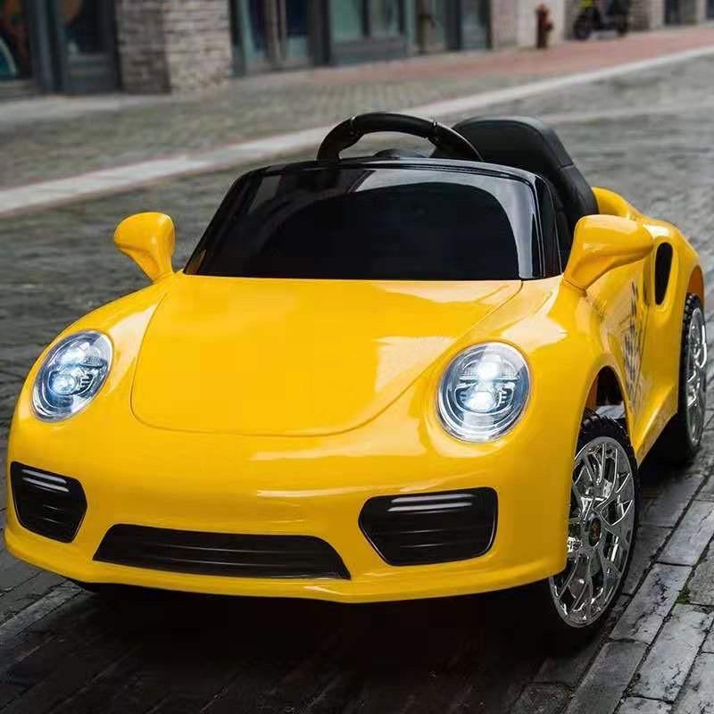 coche-electrico-para-ninos-booster-6v-amarillo