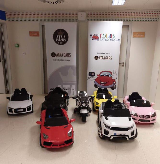 coches-electricos-para-ninos-donación-hospital-la-arrixaca-murcia-ataa-cars-planta-infantil