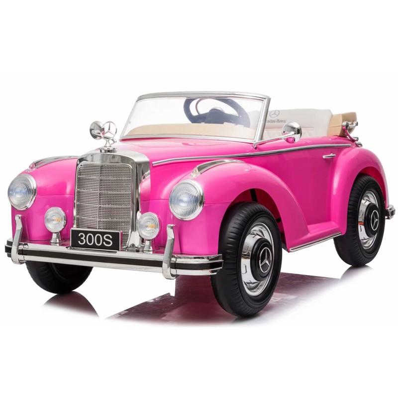 mercedes-clasico-300s-ataa-licencia-oficial-de-la-marca-12v-biplaza-rosa