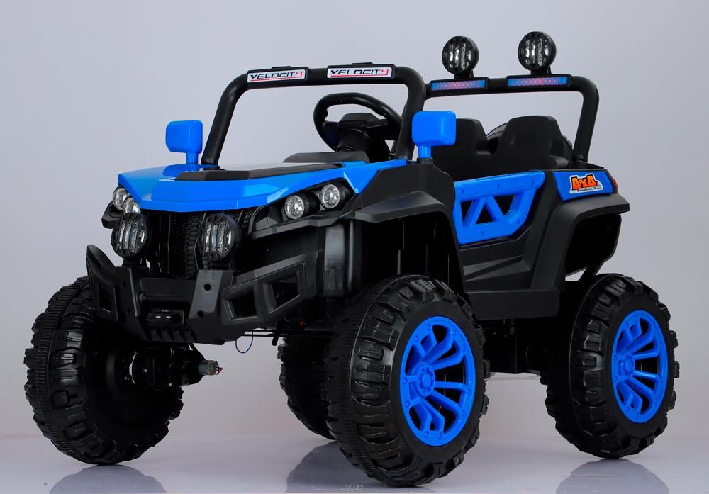 coche-eléctrico-para-niños-buggy-rodeo-biplaza-ataa-cars-azul
