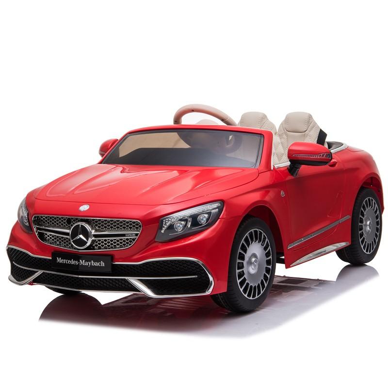 coche-electrico-para-ninos-mercedes-maybach-s650-12v-licencia-oficial-rojo