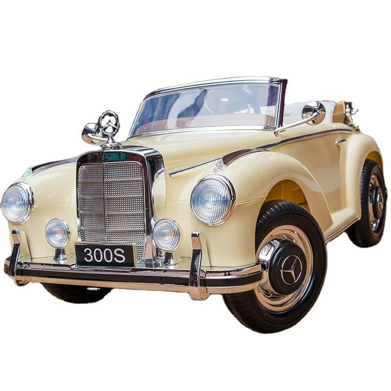 mercedes-clasico-300s-ataa-licencia-oficial-de-la-marca-12v-biplaza-beige-blanco