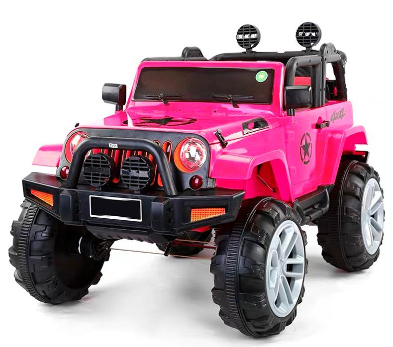 coche-electrico-para-ninos-ataa-bigfoot-12v-app-movil-biplaza-ataa-cars-rosa