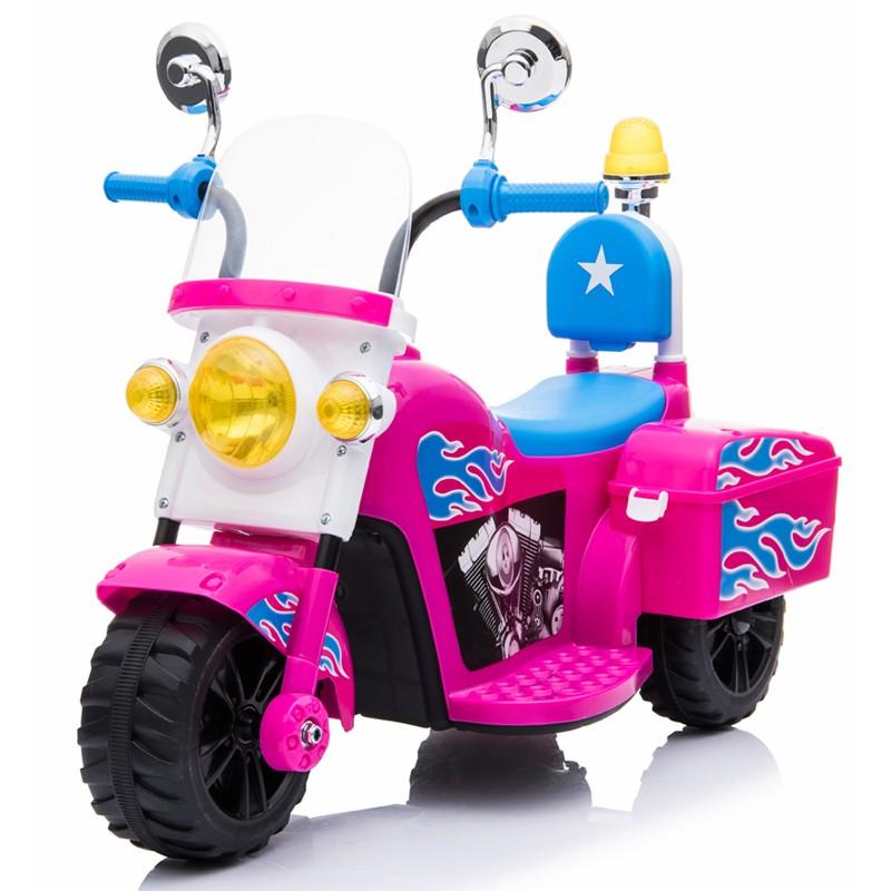 moto-de-policia-mini-ataacars-motos-electricas-infantiles-rosa