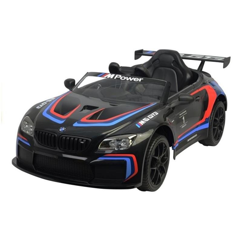 coche-electrico-para-ninos-bmw-m6-gt3-ataacars-licencia-oficial-negro