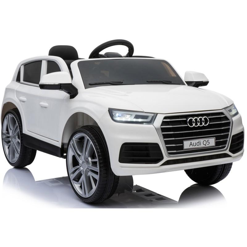 coche-eléctrico-para-ninos-audi-q5-12v-licenciado-blanco
